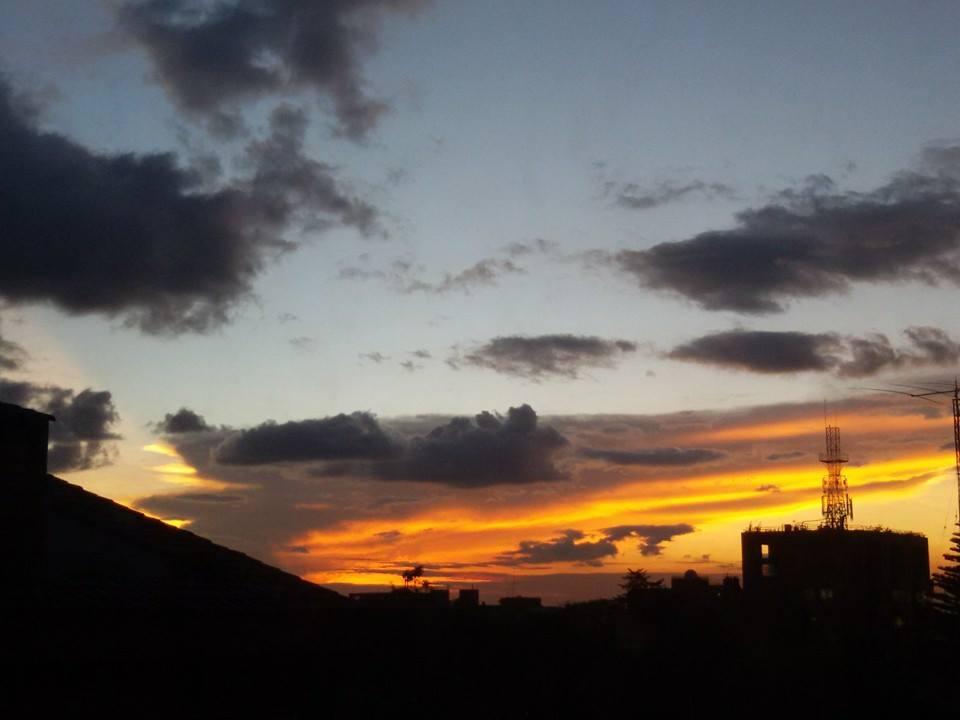 Bogotá sunset