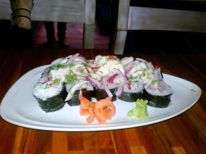 sushi ceviche