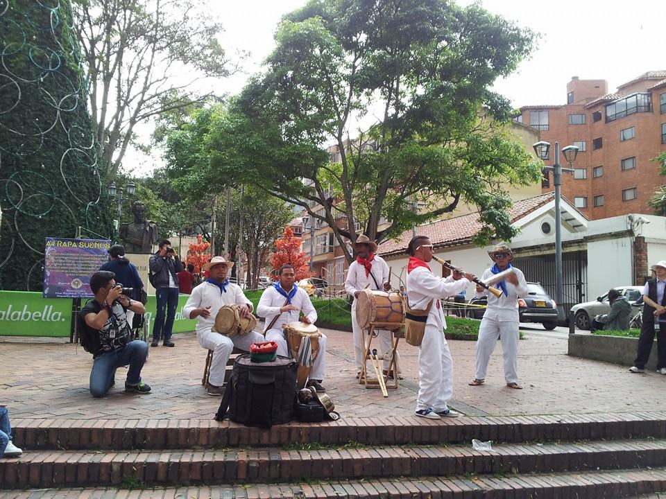 Musical delights at in Usaquén market square