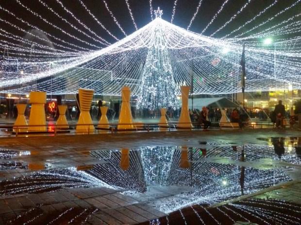 Christmas tree in Bogota - Gran Estación