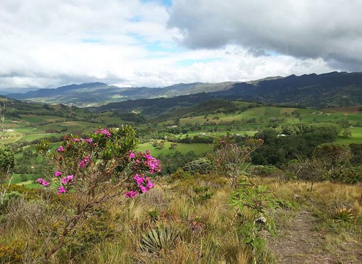Guatavita view