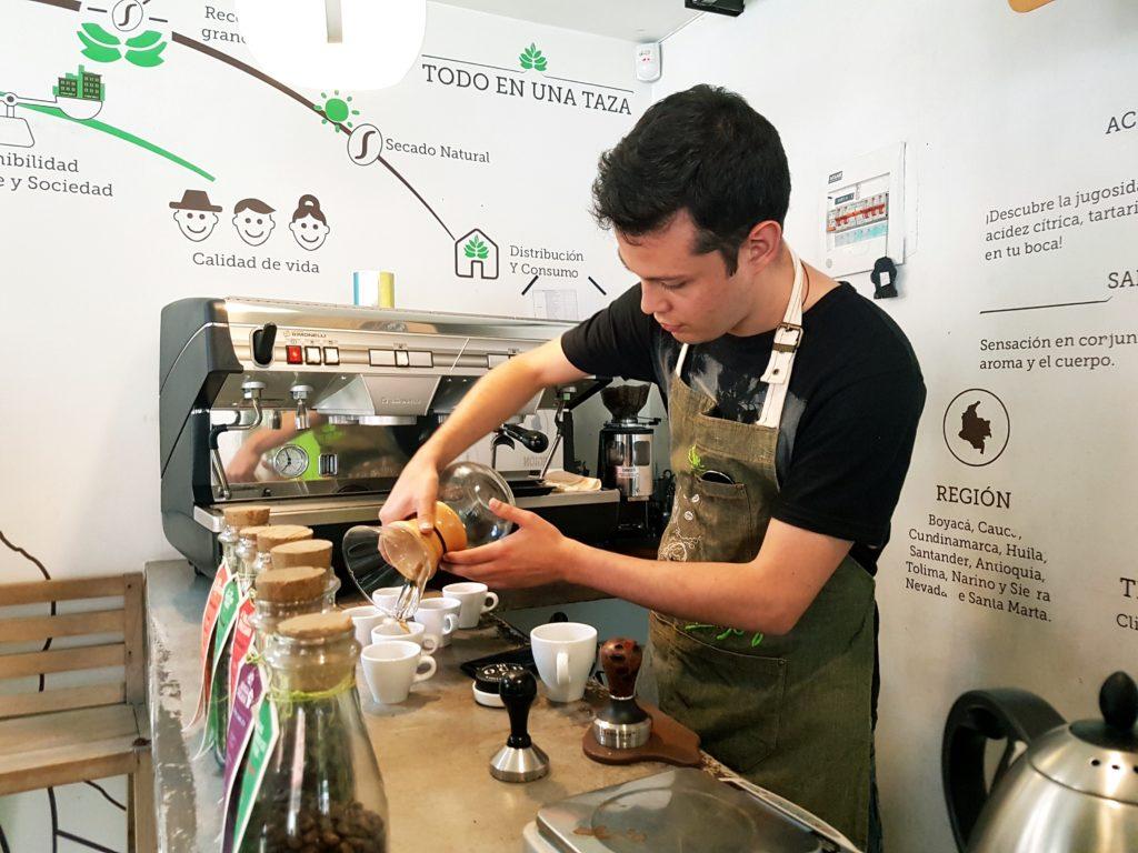 Coffee tour cafe cultor