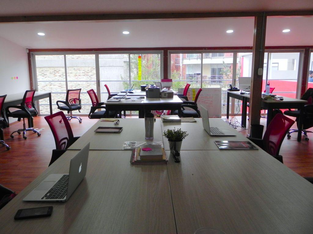 Simplonomy coworking spaces bogota