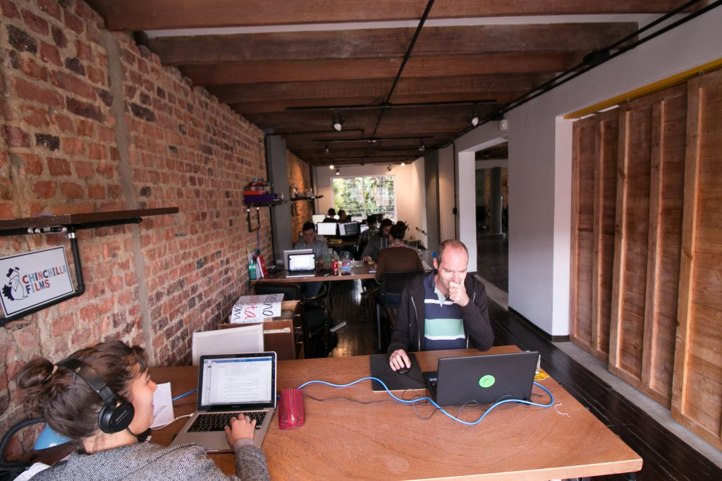 Tierra Firme coworking spaces bogota