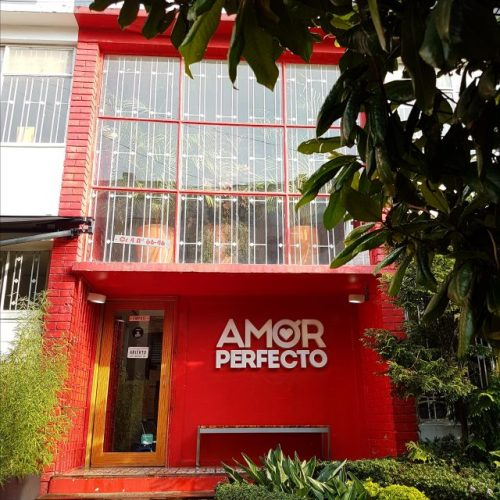 Moving to Bogota cafe Amor Perfecto