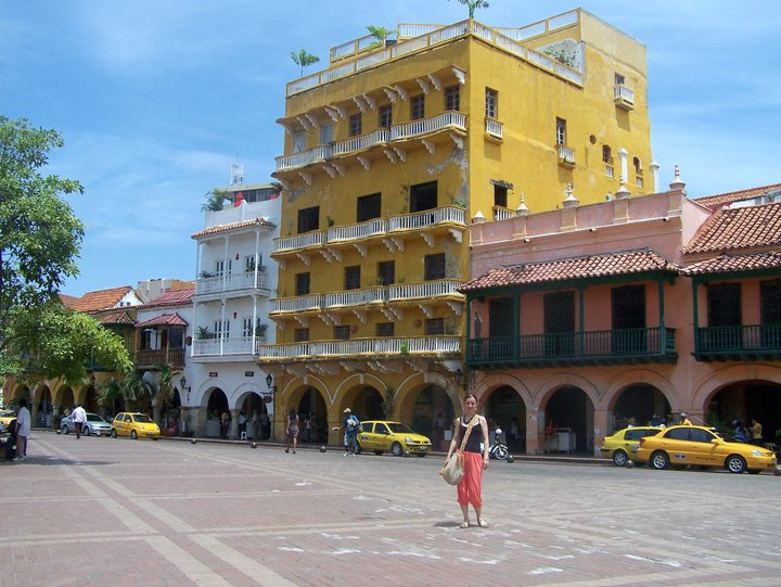 Cartagena Colombia solo female travel