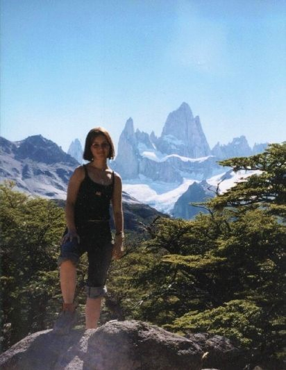 Solo Female Travel Mount Fitz Roy Argentina