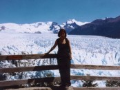 Solo female travel - Perito Moreno Glacier