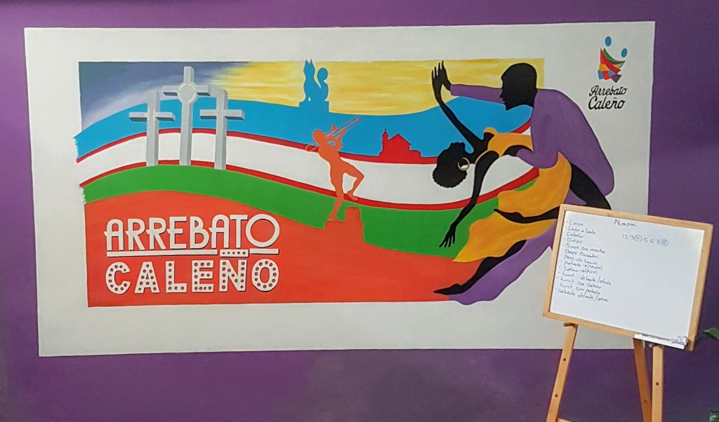 Arrebato Caleno dance studio Cali