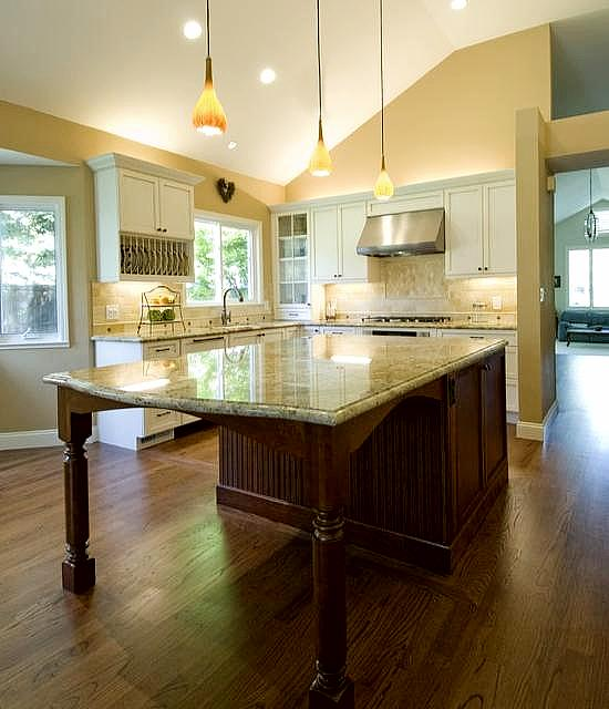 More Space And Functionality With Kitchen Island With Seating How To Build A House