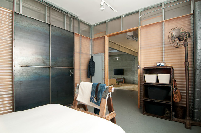 Chic Bedroom Ideas In Industrial Style How To Build A House