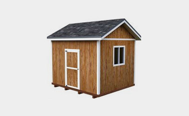 30 Free Storage Shed Plans With Gable  Lean to and Hip Roof Styles Free 10x10 shed plan pdf