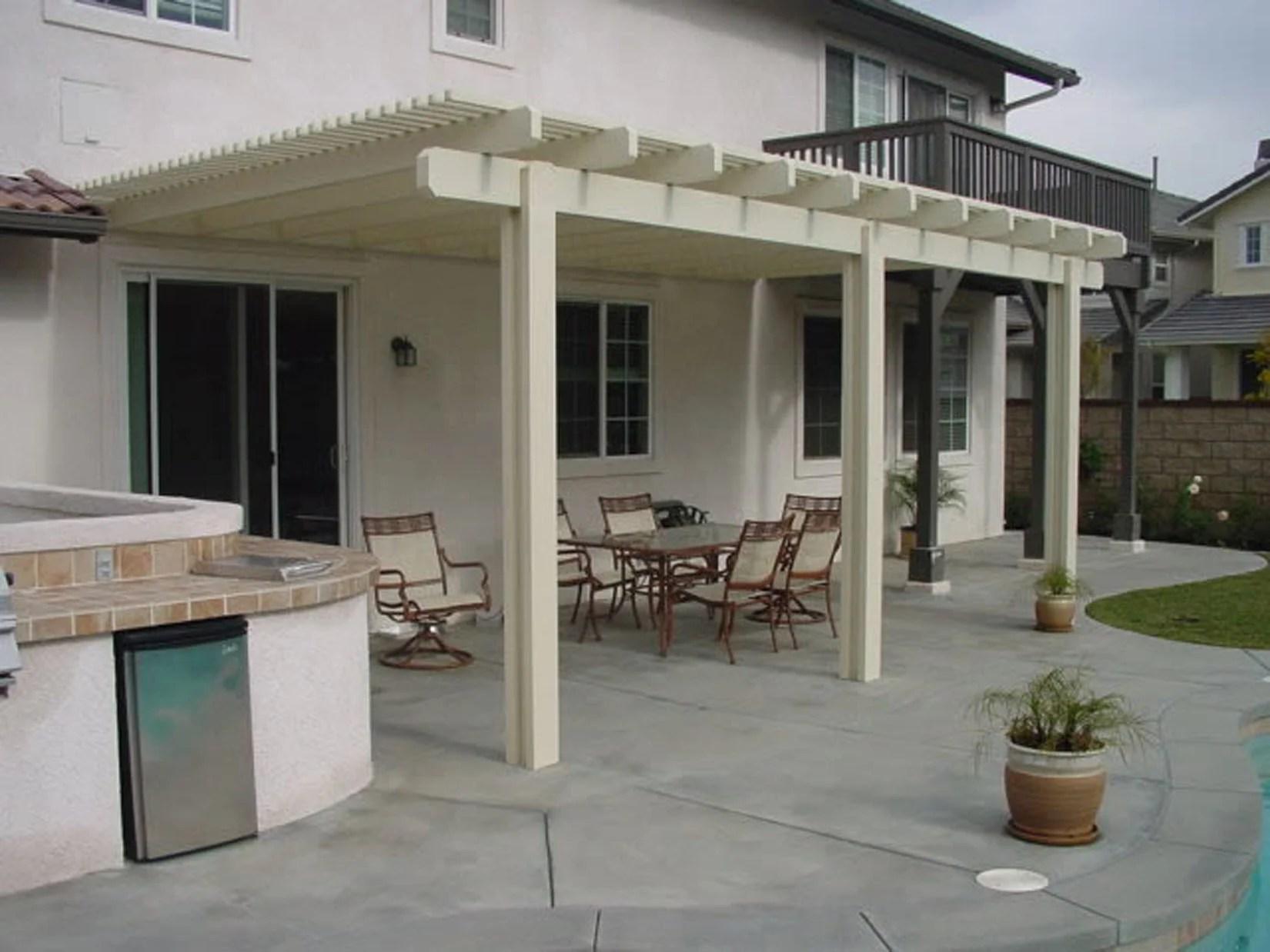 Patio Covers Photo Gallery backyard design ideas on Build Backyard Patio id=56561