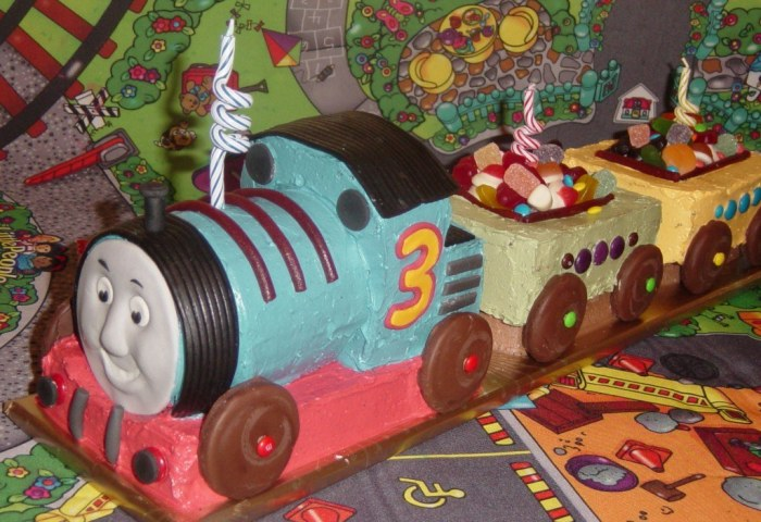 Howtocookthat Cakes Dessert Chocolate Thomas The Tank Engine