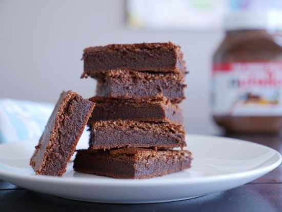 Bildresultat för nutella brownies