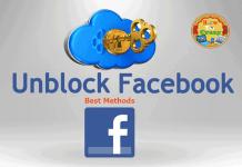 unblock facebook college library
