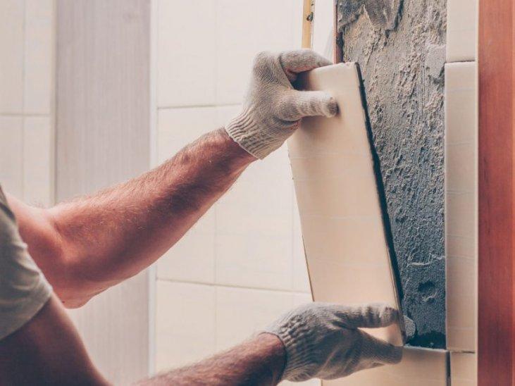 how to repair a broken tile