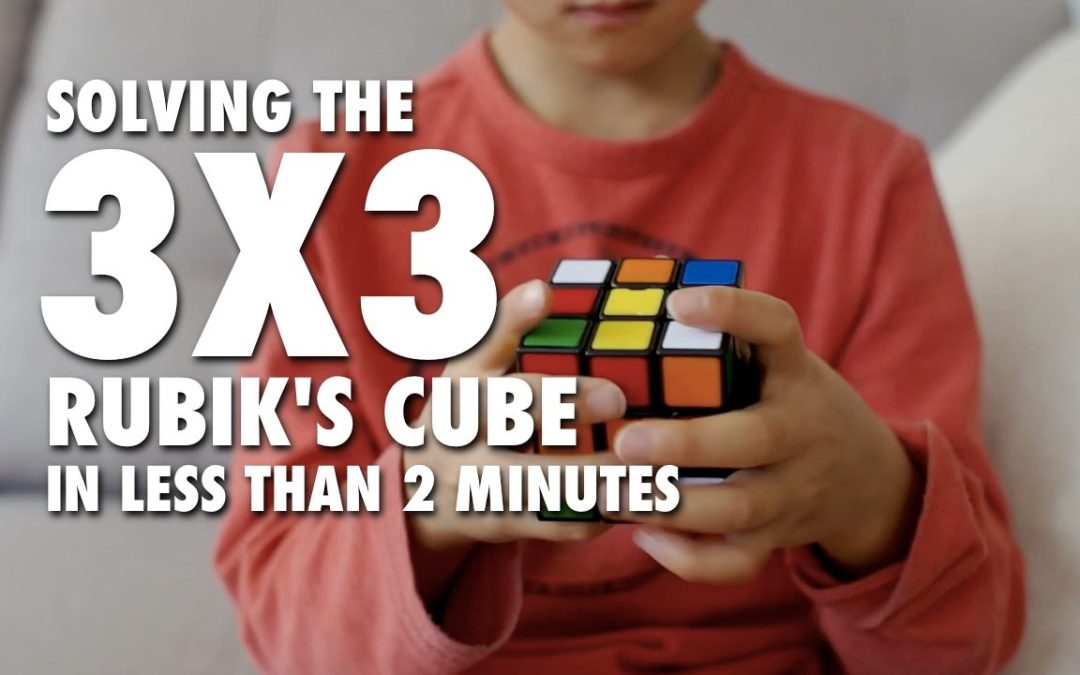Solving the 3×3 Rubik's Cube in Less Than 2 Minutes [VIDEO]