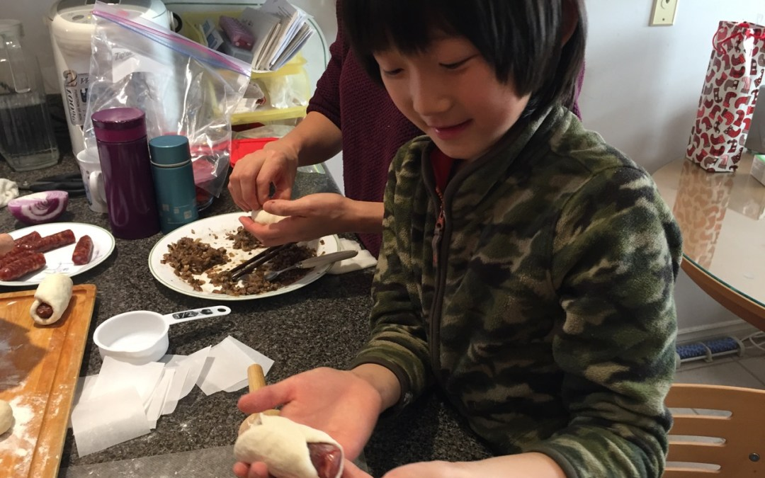 Home Learning Journal December 31, 2017 – New Year's Eve Buns