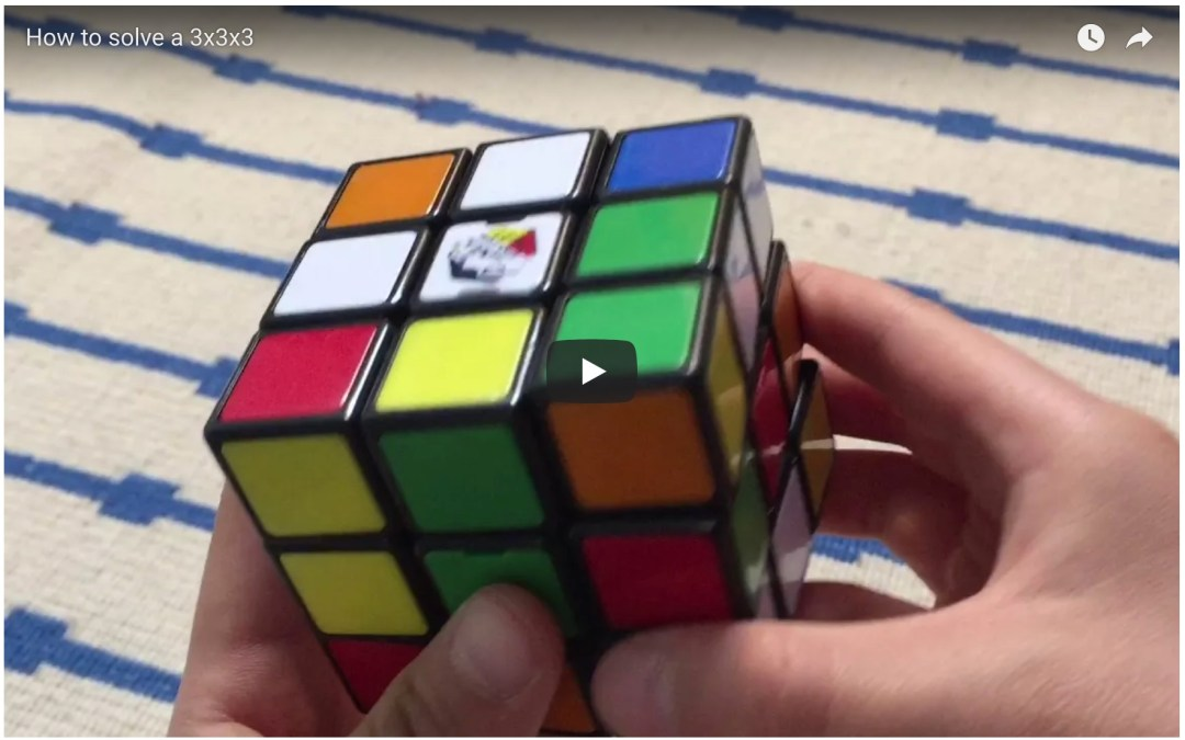 New How to Solve the 3×3 Rubik's Cube Video