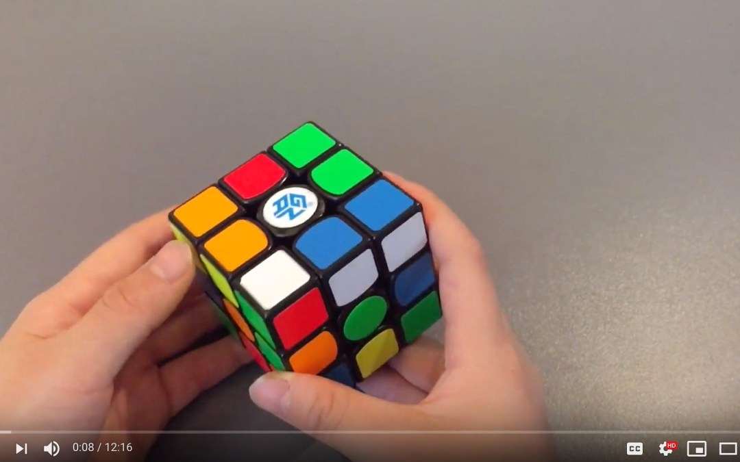 How To Solve A Rubik's Cube Pt 1 of 2 [Video]
