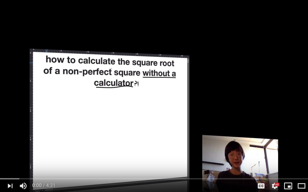 how to calculate the square roots of non-perfect squares.(pt 1) [Video]