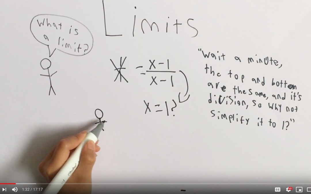 what is a limit? (with silly part at the end!) [VIDEO]