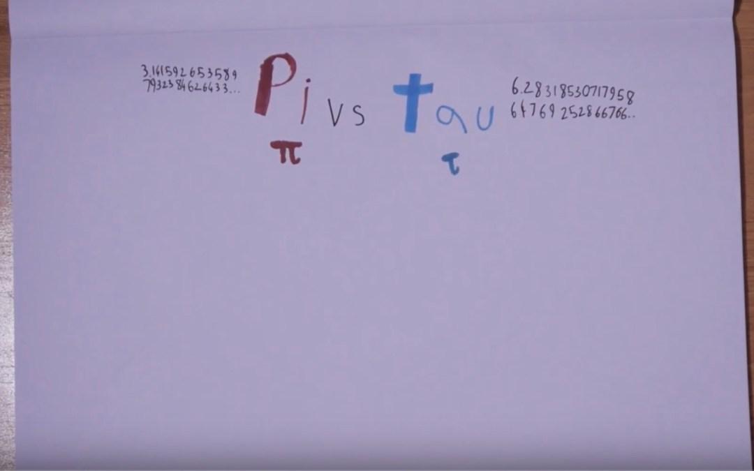 pi vs tau video