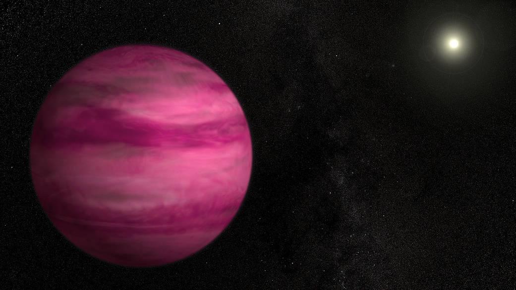 This Gas giant is Nice and… Pink?