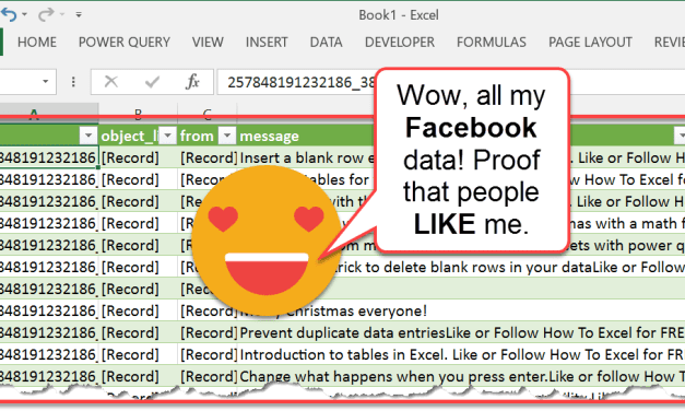 How To Import All Your Facebook Data With Power Query