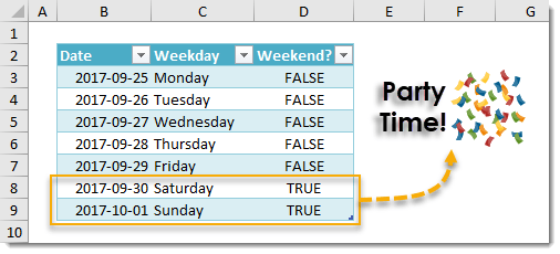 How-To-Test-If-A-Date-Is-On-A-Weekend How To Test If A Date Is On A Weekend