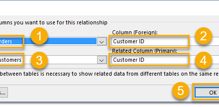 How To Create Table Relationships