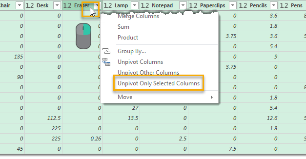 How To Unpivot Data With Power Query