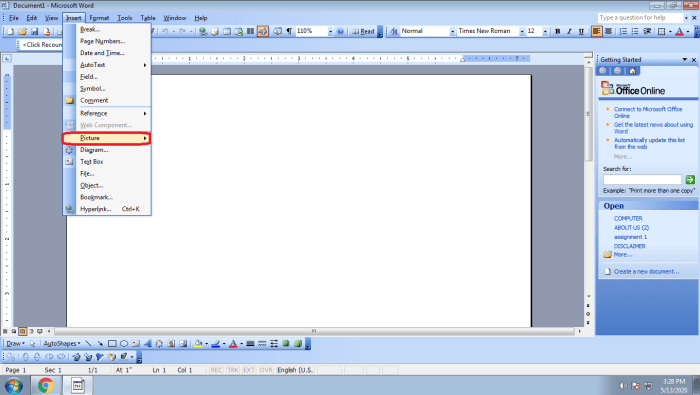 How To Insert Signature In Word