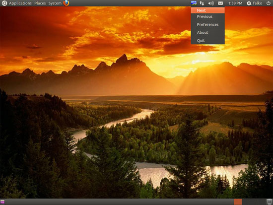 DesktopNova - Automatically Change Wallpapers On Ubuntu 11 ...