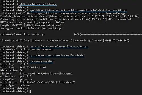 How to Deploy Secure CockroachDB Cluster on Ubuntu Server – | ALLSTAR |