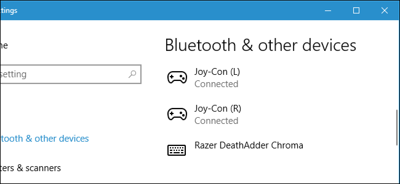 How To Connect The Nintendo Switch Joy Con Or Pro Controllers To Your PC