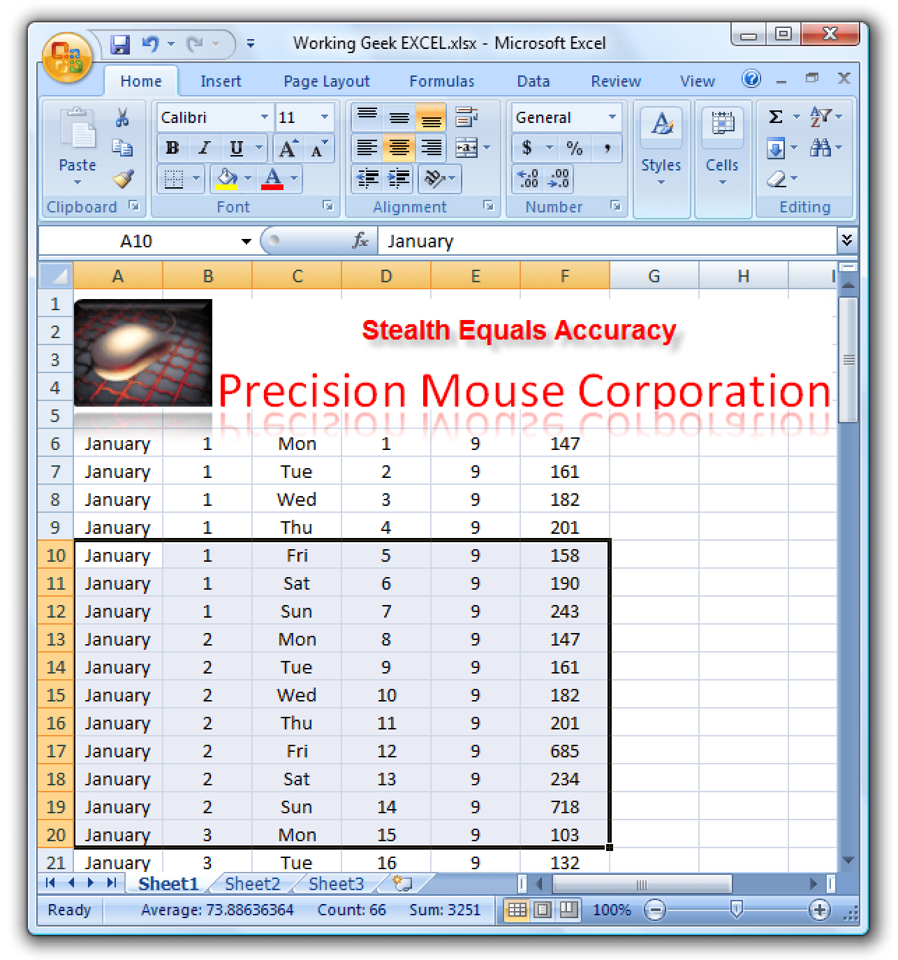 Create Appealing Charts In Excel