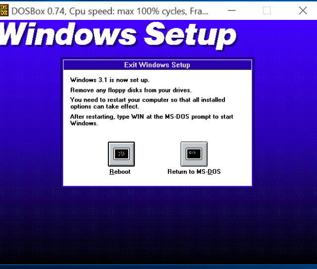 How To Install Windows 3 1 In Dosbox Set Up Drivers And Play 16 Bit Games