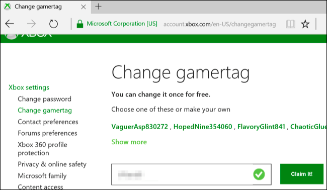 How To Change Your Xbox Gamertag Name On Windows 10