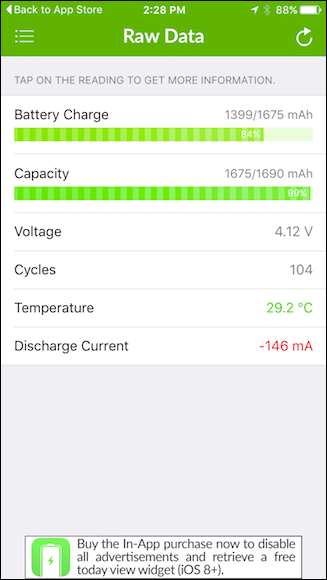 iPhone's Battery