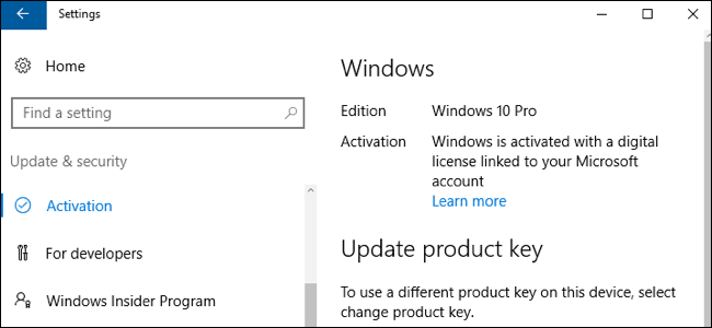 How to use your free windows 10 license after changing your pcs youre still allowed to use windows 10 on that same pc even after changing its hardware activating that license ccuart Image collections