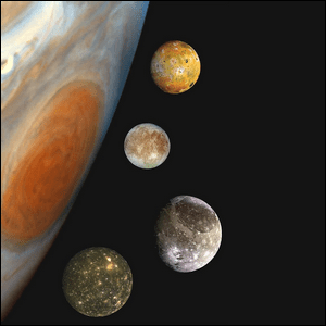 Jupiter's Largest Moons Are Referred To As The?