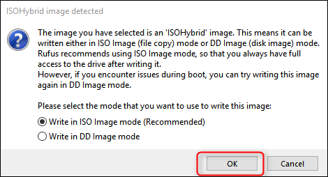 ISO image