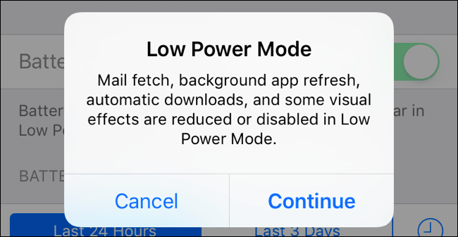 How to Use Low Power Mode on an iPhone and What It Does
