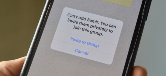 How to Stop People From Adding You to WhatsApp Groups on iPhone ...