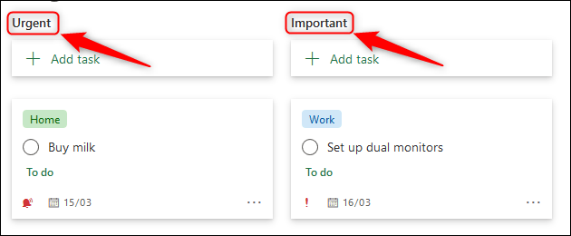Tasks grouped by Priority.