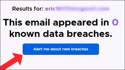 "The ""Alert me about new breaches"" option in Firefox Monitor."