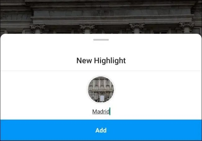 "A ""New Highlight"" being added for Madrid."
