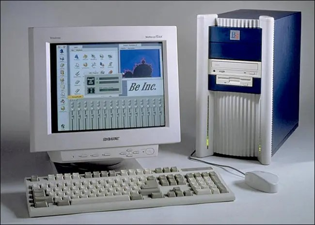 An original BeBox desktop computer.